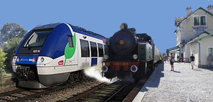 5 – Réouverture trafic voyageurs Cholet-Les Herbiers (trains TER et touristiques).