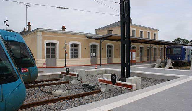 3 – Liaison performante rail Rennes-Nantes via Châteaubriant