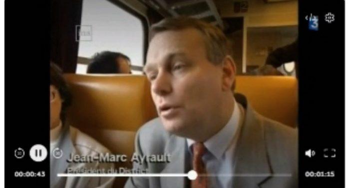 Video RER-A sur la ligne existante en direction de Nantes Atlantique et de Sainte Pazanne – –